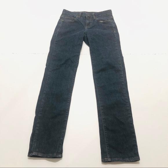"madison jeanswear Denim - Madison Size 4 x 32"" Inseam Skinny Dark Blue Jeans"